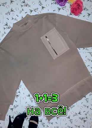 🌿1+1=3 фирменное плотное свободное платье оверсайз asos, цвет хаки, размер 44 - 46