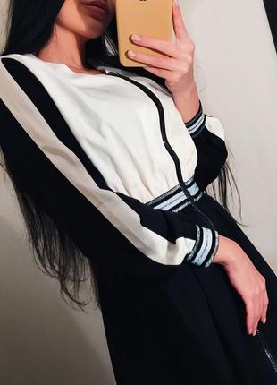 ❤️крутое платье со вставками