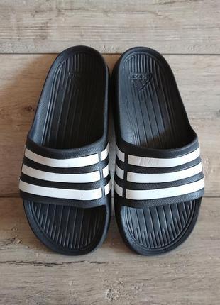 Шлепанцы тапки тапочки сланцы адидас adidas k1 33р 21.5 см