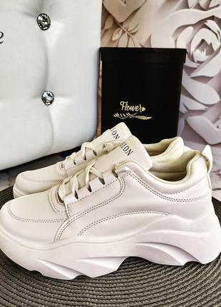 Новинка! демисезонные кроссовки ботинки на платформе