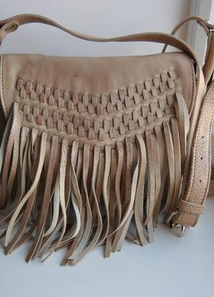 Кожаная сумка кроссбоди /шкіряна сумка