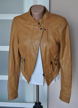 Кожаная куртка vero moda / шкіряна куртка