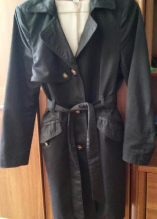 Пальто демисезон h&m oversize