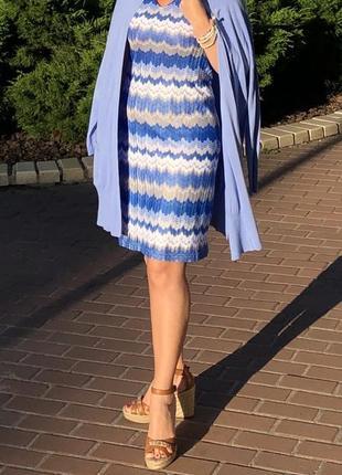 Платье в стиле missoni norah , оригинал