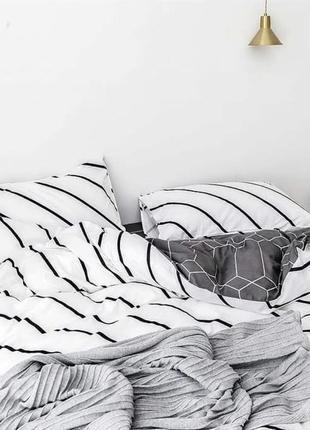 Постельное белье геометрия нереально красиво и сдержанно все размеры бязь голд
