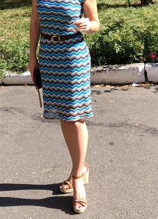 Платье в стиле missoni norah оригинал