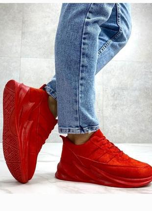 Стильные яркие кроссовки на платформе, хит сезона, кроссовочки, кроссы, кеды