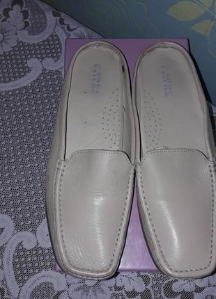 Кожаные мюли shoe tailor