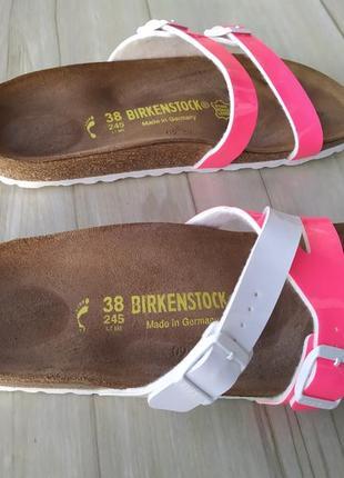 Birkenstock ортопедические шлепанцы босоножки