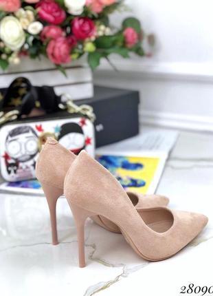 Туфли замшевые «comer»