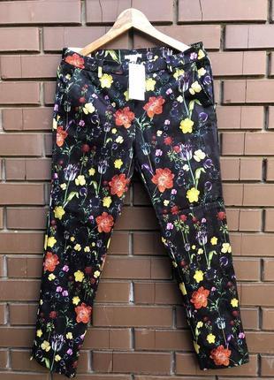 Яркие женские брюки