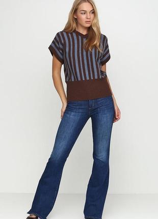 Стильные тёмные джинсы классика от yes yes new look