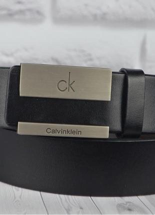Ремень в стиле ck кожа с коробочке