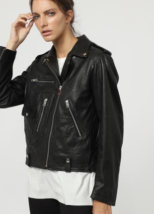 Новая куртка косуха diesel премиум 100% кожа оверсайз дизель