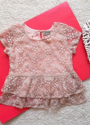 Блузка next для девочки 3 года рост 98 см
