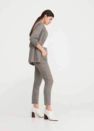 Стильные штаны брюки высокая посадка 34 ( 42 ) размер