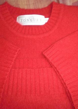 Нежная теплая кофта топ с короткими рукавами jasmine jonquet шерсть+ангора размер 42см