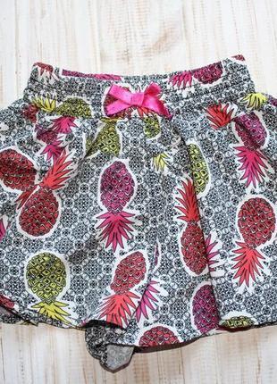 Шорты юбка на 2года
