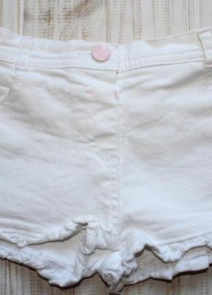 Джинсовые шорты george на 2-3года