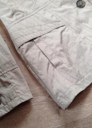 Светлая демисезонная куртка bexleys. скидка10%на2вещи!)3
