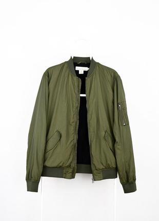Куртка бомбер h&m оригинал ( размер s )