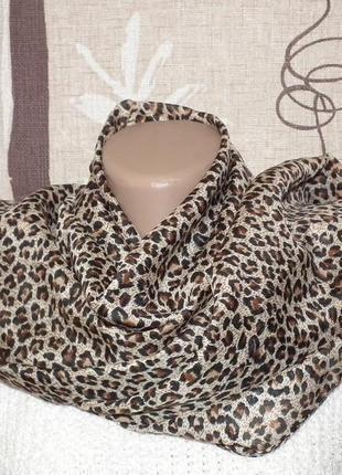 Тигровый шарф,шейный платок