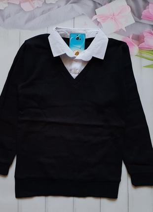 Рубашка обманка школьная для мальчиков