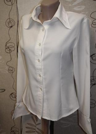 Классическая белая блуза