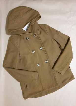 Фирменная куртка zara тёплая