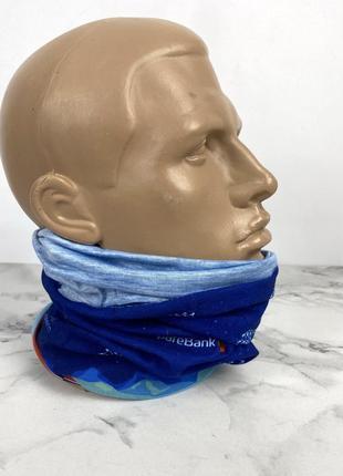 Баф легкий, спортивный, качественный синий langreen