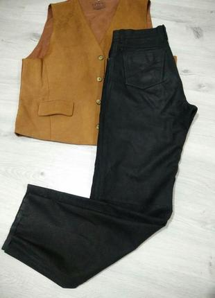 Кожаные мужские штаны.  штаны из натуральной кожи .