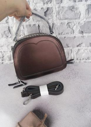 Женская кожаная сумка жіноча шкіряна клатч кожаный шкіряний