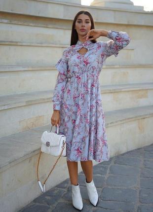 Платье, платье миди