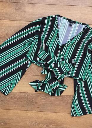 Чумовая блуза в полоску от new look
