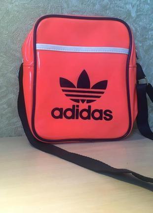 Неоновая сумка cross body adidas opигинал