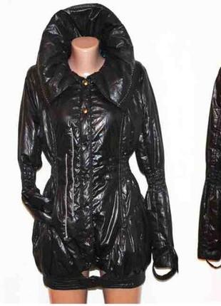 Клёвое полу пальто куртка лёгкое утеплённая, giulia lisa s-l