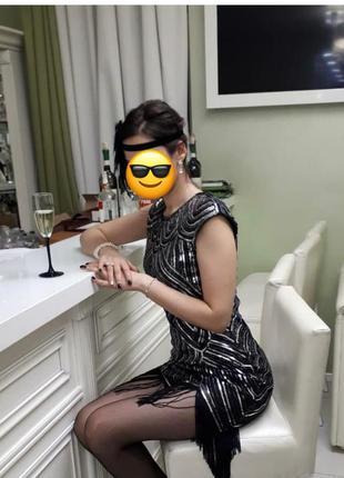 Платье в стиле гетсби, гангстеров и 30-х