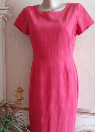 Платье футляр next прямого фасона миди