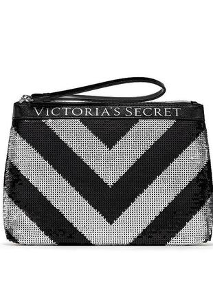 Victoria's secret клатч victorias secret косметичка виктория сикрет