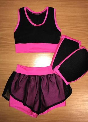 Тренировочный костюм для художественной гимнастики и танцев