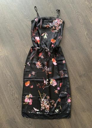 Сатиновый комплект боди и юбка