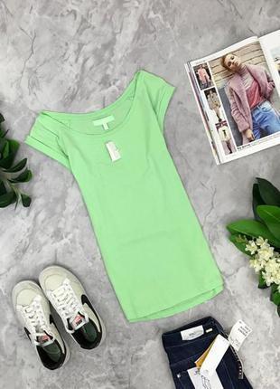 Летняя футболка яркого цвета  ts1902108 bershka