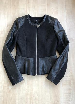 Чёрная куртка h&m🖤