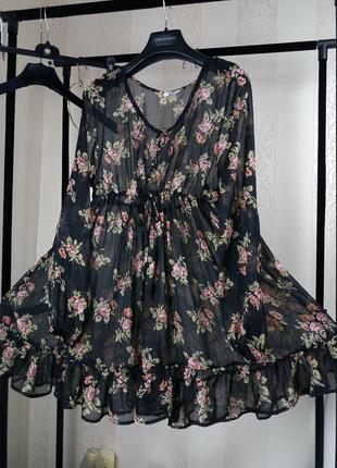Тренд!платье красивое воздушное/плаття/туніка/ красиве легке
