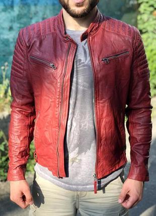 Кожаная куртка gipsy tigha