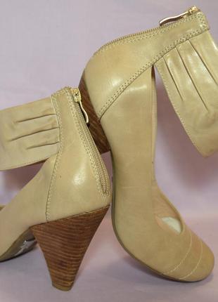 """Р.41 германия,""""5th avenue"""", натуральная кожа! брендовые, супер комфортные туфли ботильоны"""