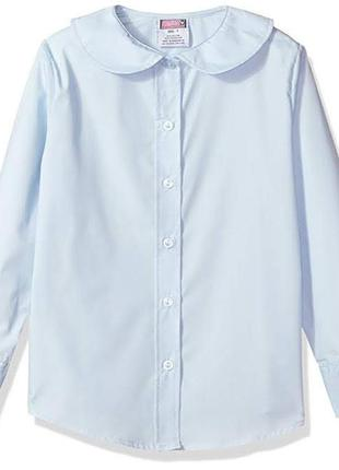 Симпатичная голубая рубашка french toast