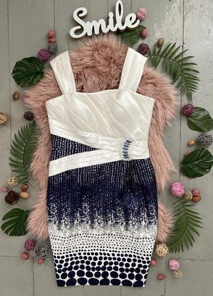 Нарядное праздничное вечернее платье с накидкой №233
