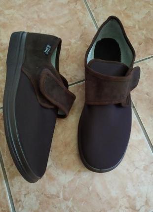 44 p. dr ortoнові ортопедичні діабетичні туфлі черевики