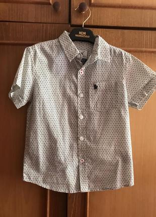 Рубашка доя мальчикаrebel by primark